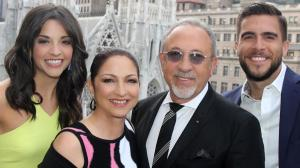 "Ana Villafane, Gloria Estefan, Emilio Estefan and Josh Segarra of ""On Your Feet!""  (Bruce Glikas)"